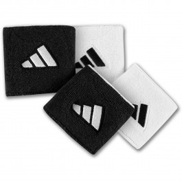 Adidas Reversible Wristband Small Black/White