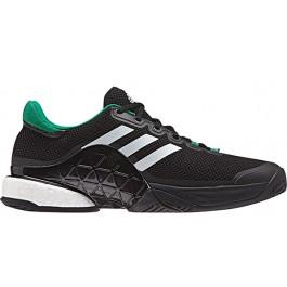 Adidas Mens Barricade Boost 2017 Black Tennis Shoe