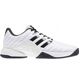 Adidas Mens Barricade 2018 White Tennis Shoe
