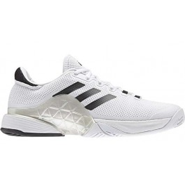 Adidas Mens Barricade Boost 2017 White Tennis Shoe