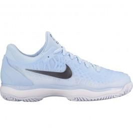 Nike Womens Zoom Cage 3 Hydrogen Blue Tennis Shoe