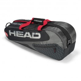 Head Elite Combi 6 Pack Black Tennis Bag