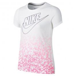 Nike Girls Futura Logo Tee