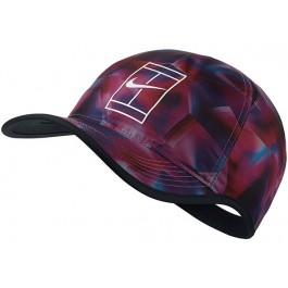 Nike Feather Lite Cap Graphic Fire Tennis Hat Cap