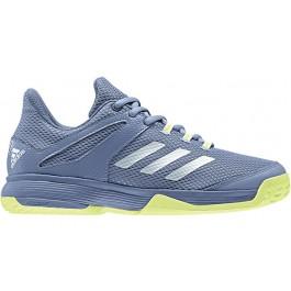Adidas Junior Barricade Club Gray Tennis Shoe