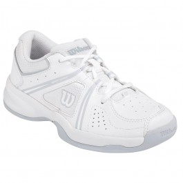 Wilson Envy Junor Tennis Shoe White