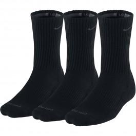 Nike Performance Crew Mens Socks Black 3 Pair