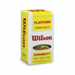 Wilson Platform Tennis Balls 2 Pack Yellow