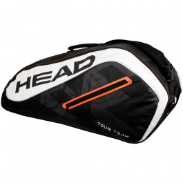 Head Tour Team 3 Pack Black Tennis Bag