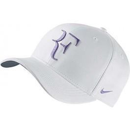 Nike RF Roger Federer Hybrid Hat White Purple Tennis