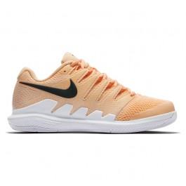 Nike Womens Zoom Vapor X Tangerine Tennis Shoe