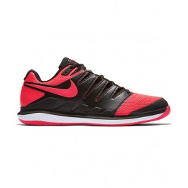 Nike Mens Air Zoom Vapor X Black Red Shoe