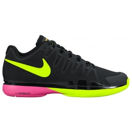 Nike Mens Zoom Vapor 9.5 Black Volt Tennis Shoe