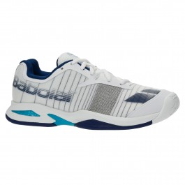 Babolat Junior Jet White Tennis Shoe