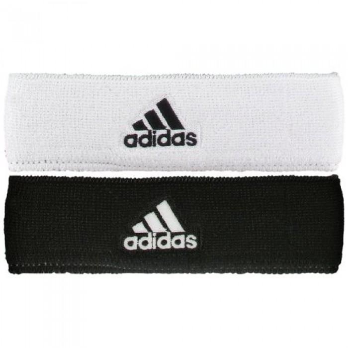 Estresante Tienda Limpia el cuarto  Solow Sports Adidas Reversible Headband Black/White