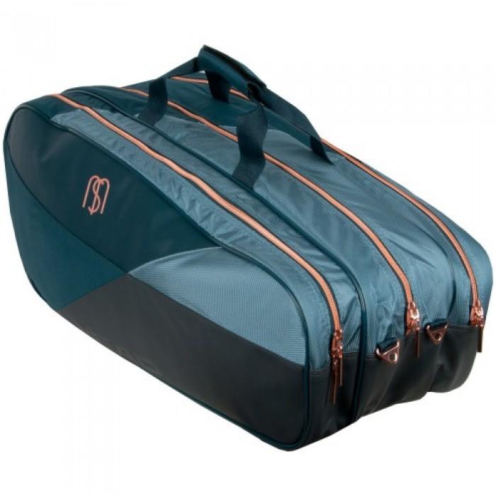 Head Maria Sharapova Racquet Combi 6 Pack Blue Tennis Bag