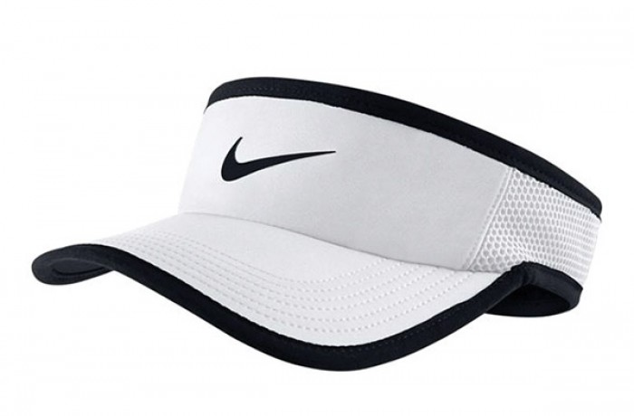 Solow Sports Nike Feather Light 3.0 Visor White 843100765f5