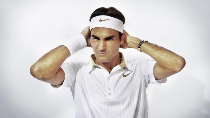 ... Nike Swoosh Bandanna Tennis Headband White