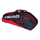 Head Tour Team Pro 3 Pack Red Tennis Bag