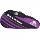 Adidas Barricade 3 Pack Purple Tennis Bag