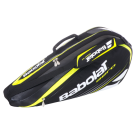 Babolat Aero Racquet Holder 3-Pack 2013 Black/Yellow