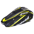 Babolat Aero Racquet Holder 6-Pack 2013 Black Yellow