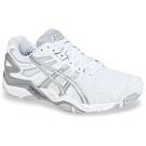Asics Women's Gel-Resolution 5 Tennis Shoe White