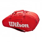 Wilson Super Tour 9 Pack Red Tennis Bag