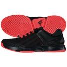 Adidas Mens adizero Ubersonic Black Lava Tennis Shoe