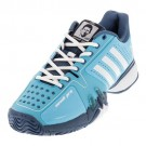 Adidas Mens Novak Pro Blue Tennis Shoe
