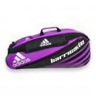 Adidas Barricade 6 Pack Purple Tennis Bag