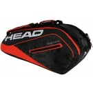 Head Tour Team Monstercombi 12 Pack Red Tennis Bag