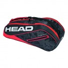 Head Tour Team Combi 6 Pack Red Tennis Bag