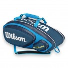 Wilson Tour V 9 Pack Blue Tennis Bag