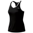Asics Women's Court Tank Black/White