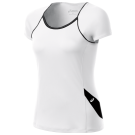 Asics Women's Court Cap Sleeve White/Black