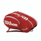 Wilson Mini Tour 6 Pack Red