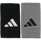 Adidas Reversible Long Wristbands Black/Gray