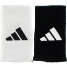 Adidas Reversible Long Wristbands White/Black